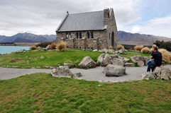 Lake Tekapo - New Zealand Royalty Free Stock Photo