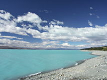 Lake Tekapo, NZ Royalty Free Stock Photos