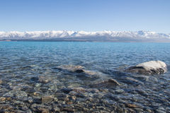 LAKE TEKAPO SOUTH ISLAND NEW ZEALAND Royalty Free Stock Photography