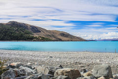 Lake Tekapo South Island  New Zealand Royalty Free Stock Images