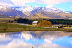 Lake Tekapo,South Island New Zealand. Royalty Free Stock Image