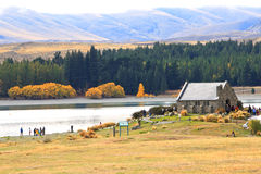 Lake Tekapo,South Island New Zealand. Stock Image