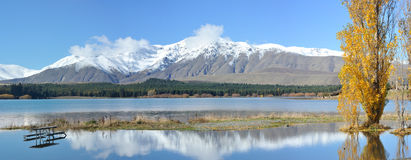 Lake Tekapo in south New Zealand Royalty Free Stock Image