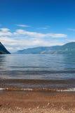 Lake Teletskoye Stock Photo