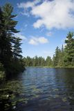 Lake Temagami. In Northern Canada Royalty Free Stock Photos