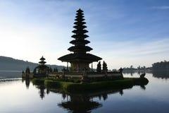 lake temple dawn bali indonesia Stock Images