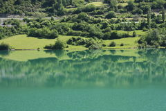 Lake in Tena valley, Pyrenees Stock Photos