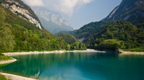 Lake Tenno Royalty Free Stock Photo