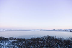 Lake Thingvallavatn in Iceland Royalty Free Stock Photography