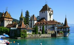 Lake Thun Stock Image