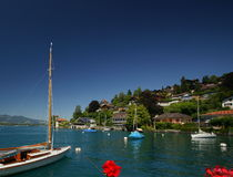 Lake Thun Royalty Free Stock Photos