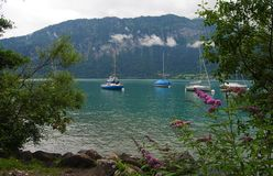 Lake Thun in Switzerland Stock Image