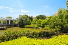 Lake of tianzhu resorts hotel Royalty Free Stock Image