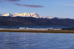 Lake in Tibet Stock Photography