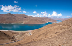 Lake in tibet, China Stock Photos