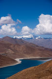 Lake in tibet, China Royalty Free Stock Images