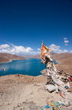 Lake in tibet, China Royalty Free Stock Photography