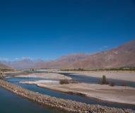 Lake in tibet, China Stock Images