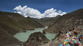 Lake in tibet Stock Image