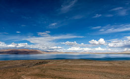 Lake in the Tibet plateau Stock Photo