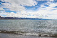 The Namtso lake in Tibet Royalty Free Stock Photos