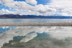 The Namtso Lake in Tibet Stock Images