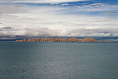 Siling Lake in Tibet Royalty Free Stock Photo