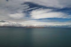 Siling Lake in Tibet Stock Image