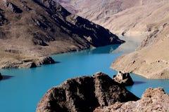 Lake in tibet Royalty Free Stock Images