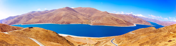 Lake in Tibet Stock Photos