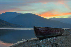 Lake Tikves, Kavadarci, Makedonien Royaltyfri Fotografi
