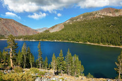 Lake Tioga on pass Stock Photo