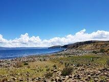 Lake Titicaca Arkivbild