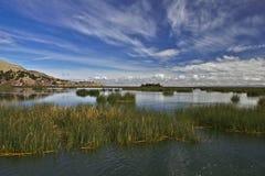 Lake Titicaca Royaltyfri Bild