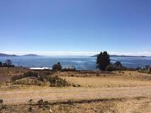 Lake Titicaca Royaltyfri Foto