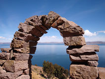 Lake Titicaca Stock Images