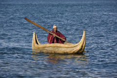 Lake Titicaca - Bolivia Stock Photography