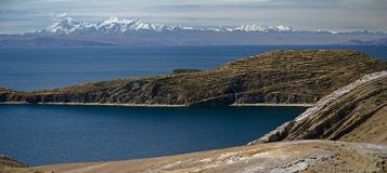 Lake Titicaca in Bolivia Stock Photos
