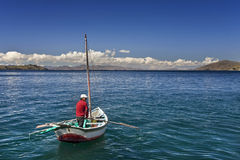 Lake Titicaca - Bolivia - South America Stock Photography