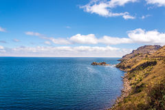 Lake Titicaca Coastline Stock Images