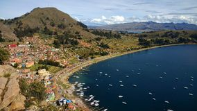 Lake Titicaca. Copacabana, Bolivia Stock Image