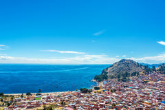 Lake Titicaca and Copacabana, Bolivia Stock Photography