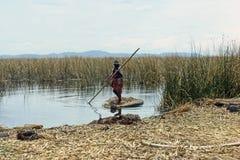 Lake Titicaca, Peru Stock Photos