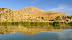 Lake Titikaka, Peru Royalty Free Stock Photos