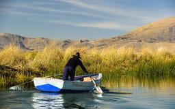 Lake Titikaka, Peru Stock Images
