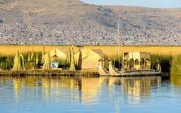 Lake Titikaka, Peru Royalty Free Stock Images