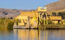 Lake Titikaka, Peru Stock Photo