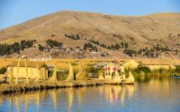 Lake Titikaka, Peru Stock Image