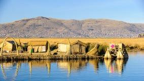 Lake Titikaka, Peru Royalty Free Stock Photography