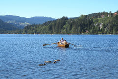 Lake Titisee in the Black Forest, Germany Stock Photography